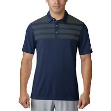 New Adidas Golf 3-Stripes Mapped Polo MOISTURE WICKING - Pick Shirt