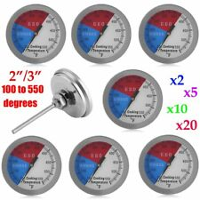 "LOT 3"" 550 RWB BBQ CHARCOAL GRILL WOOD SMOKER OVEN PIT TEMP GAUGE THERMOMETER OY"