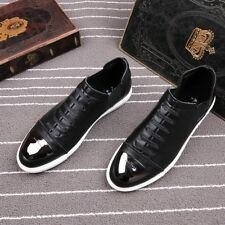 New Korean Mens Athletic Sport Board Shoes Casual Shoes Sneakers Metal Decor
