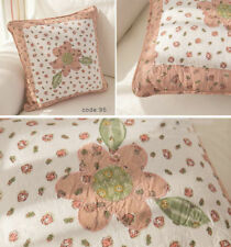 1 PC French Country Cushion Cover Pillow Cover Floral Shabby Chic Flower