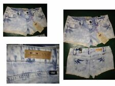 NWT $32 YMI Faded Low Rise Blue Jean Hip Hop Booty Shorts Size Juniors 5