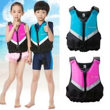 Polyester Kids Child Life Jackets Swimming Boating Ski Foam Vest - CE Approved