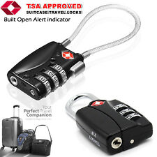 Suitcase Travel PadLock With TSA Approved Combination Luggage Bag Backpack Lock