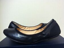 Cole Haan Avery Ballet Black Leather Suede Women's Fashion Flats Size 7, 7.5