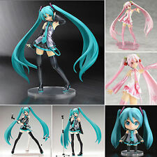 Anime Vocaloid Hatsune Miku/Sakura PVC Action Figures Manga Toys Collection Gift