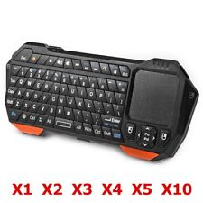 Mini Wireless Bluetooth Multimedia Keyboard Backlit w/ Touchpad for iOS PC LOT H