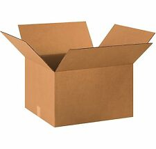 Recycled Corrugated Cardboard Box Kraft Moving Packing Boxes, 10 - 100 Pack
