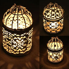 Hanging Hollow Candle Holder Stand Moroccan Style Lantern Wedding Decor Peachy