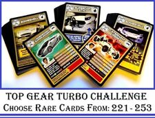 Choose Your TOP GEAR Turbo Challenge RARE CARDS From: 221 to 253