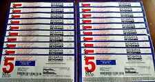 25 Bed Bath&Beyond Coupons $125 value BBB Save $5 off $15 purchase 10+9/17  Lot