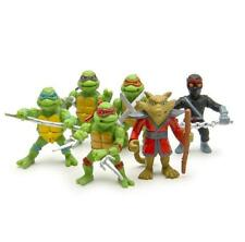 6pcs/lot Ninja Turtle action Figure doll Keychain toy New gift For children Boy