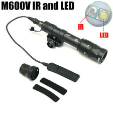 Tactical Weaponlight M600V-IR Scout Light White LED + IR Infra-red Output