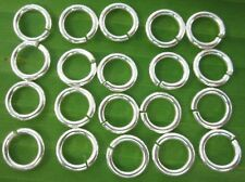 100% REAL925 sterling silver round open JUMP RING 9mm x 1.5mm - DIY jewellery