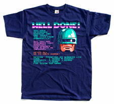 SUPER CONTRA BOX COVER NES game T SHIRT BLUE ALL SIZES S-5XL