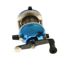 Mini Right Hand Baitcast Wheel Trolling Casting Fishing Reel with Line