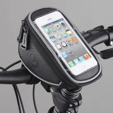 Phone Holder Pouch for MTB Bike Bicycle Cycling Front Frame Pannier Tube Bag