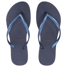 HAVAIANAS SLIM FLIP FLOP FLIP FLOPS FINGER FOR WOMAN ORIGINAL 4000030 0555 BLUE