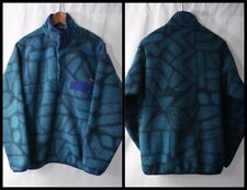 PATAGONiA LiGHTWEiGHT SNAP T SYNCHiLLA FLEECE PULLOVER - M Shale jacket/sweater