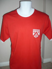 RETRO Barnsley 1970's Embroidered Football Style T-Shirt