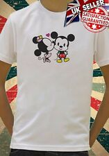 Disney Minnie And Mickey Mouse Cute cool Kids Boy Girls Unisex Top T-Shirt 718