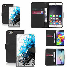 pu leather flip wallet case for many Mobile phones - metaphysical