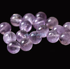 Wholesale Natural Lavender Amethyst Gemstone Round Loose Beads 6mm 8mm 10mm New