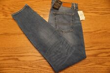NWT MEN'S LUCKY BRAND JEANS 76 Multiple Sizes Slouch Skinny Fit Candiani Italian