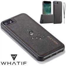 Luxury Ultra-thin PU Leather Back Skin Case Cover For Apple iPhone 8 & 7/6S Plus