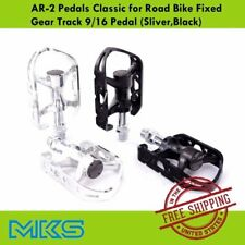 "MKS AR2 Pedal for Road Bike Fixed Gear Track - 9/16"" Bike / Bicycle Pedals MTB"