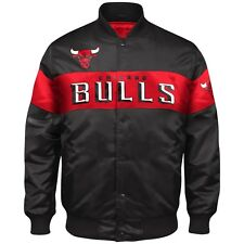 Exclusive: Authentic Chicago Bulls Official NBA nylon showtime jacket