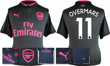 17 / 18 - PUMA ; ARSENAL 3RD KIT SHIRT SS / OVERMARS 11 = ADULTS