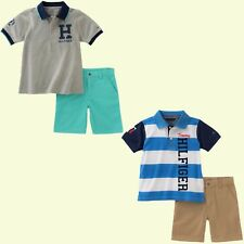 New Tommy Hilfiger Baby Boys 2-Pc Polo Shirt & Shorts Set MSRP: $50.00 NWT