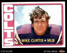 1972 Topps #326 Mike Curtis Colts NM