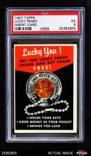 1957 Topps Lucky Penny Card PSA 5 - EX
