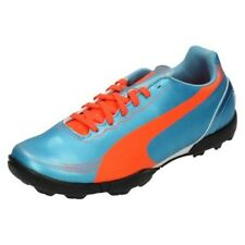 Boys Junior Puma Astro Turf Football Trainers Evo Speed 5.2 TT JR
