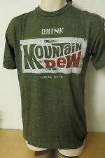 Mountain Dew RETRO LOOK LICENSED MEN'S TEE SIZE L, XL, XXL NEW WITH TAG!