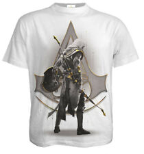 Spiral Origins - Bayek White, Assassins Creed T-Shirt White|Assassins Creed