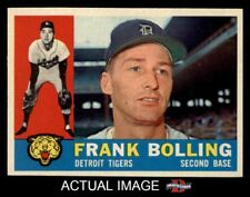 1960 Topps #482 Frank Bolling Tigers NM/MT