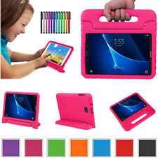 Safe Kids Handle Shockproof EVA Foam Stand Case Cover For Samsung Galaxy Tab A E