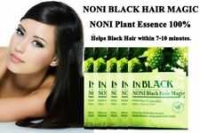 2-20 Set Black Noni Hair Bsy Shampoo Natural Plant Essence Organic Noni Magic