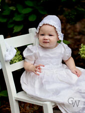 Isabel Silk Christening Gown