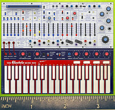 BUCHLA Music Easel 200e DIgital One  SYNTHESIZER rerigerator magnet