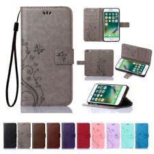Leather Magnetic Flip Wallet Cards Holder Case Cover For iPhone X 8 6 6S 7 Plus