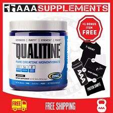 Gaspari Nutrition | Qualitine Creatine Monhydrate | 300g Creatine Gym Fitness