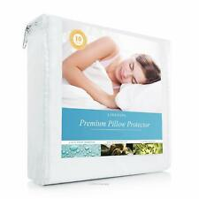 Mattress Protector Waterproof Smooth Soft Hypoallergenic Fitted Mattress Cover