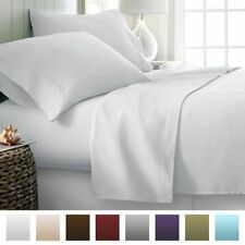 Great Bedding Item-100%Egyptian Cotton 1000 TC In USA Size White Solid