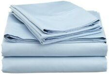 Australian Bedding Collection 1000 Thread Count 100% Cotton Light Blue Solid.