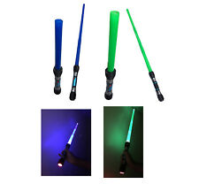 Led Light Up Sword With Sounds 87CM Fully Extended Lightsaber Space Sword 868-20