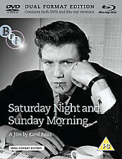 Saturday Night & Sunday Morning (DVD +Blu-ray),Shirley Anne Field,Albert Finney