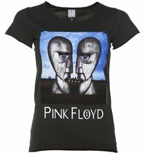 Official Women's Charcoal Pink Floyd The Division Bell T-Shirt from Amplified